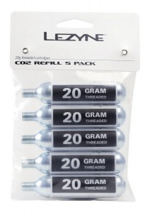 Nabój gazowy LEZYNE THREADED CO2 20g 5-PACK 5szt