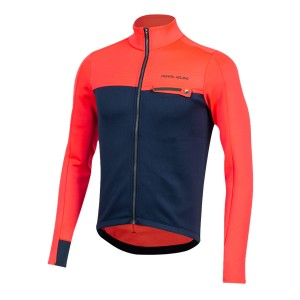 Bluza Pearl Izumi Interval Thermal Jersey Atomic Red/Navy