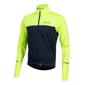Bluza Pearl Izumi Quest Thrm Jersey Screaming Yellow/Navy